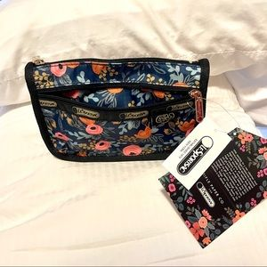 LeSportsac x Rifle Paper Co. Travel Cosmetic